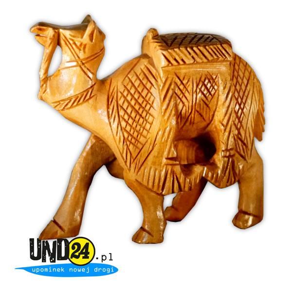 Drewniana figurka - Dromader 24 godziny